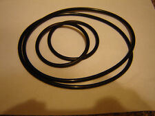 16MM EIKI   ST-Series, Projector Belts,  4 Belt Set / Belt Kit.  16mm Eiki Belts