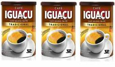Brazilian Instant Cafe IGUACU Dried Coffee Powder 100g x 3Cans