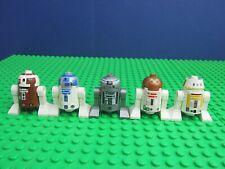 STAR WARS CUSTOM MINI FIGURE R2D2 R2-D2 DROID FITS LEGO JOB LOT UK MEGA BLOCKS