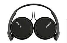 Sony Earphones Black On The Ear Model MDR-ZX110 NIB