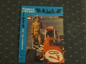 1972 Oswego Speedway Program Vol. 9  # 23 Bruce Kraft