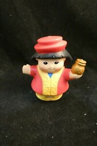 FISHER PRICE LITTLE PEOPLE  RED ROBE WISEMAN 2008