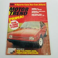 Vintage Motor Trend May 1976 Car Automobile Magazine The 4-Way Ford