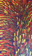 Gloria Petyarre Large GORGEOUS PAINTING Top Aboriginal Art, Leaf Dreaming
