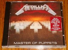 METALLICA MASTER OF THE PUPPETS CD STILL FACTORY SEALED WITH HYPE STICKER!
