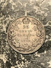 1919 Canada 25 Cents Lot#Q3396 Silver!
