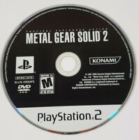 Metal Gear Solid 2: Substance (Sony PlayStation 2 PS2) - Disc Only, Tested