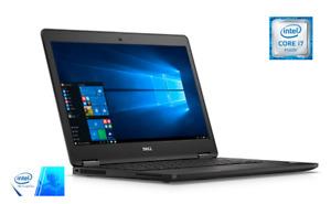 "Dell Latitude E7470 Laptop 14"" FHD Screen intel i5-6300U, 16GB RAM, 256GB SSD"