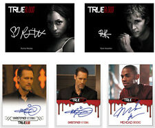 Rittenhouse 2015 True Blood Season 7 Factory Sealed Card Set w/ 5 Autograph