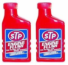 STP Engine Flush 2 x 450ml Car Oil Flush Diesel or Petrol engines 900ml