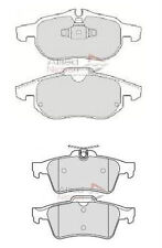Vectra C Front and Rear Brake Pads Most Models 2004 On NEXT DAY DELIVERY