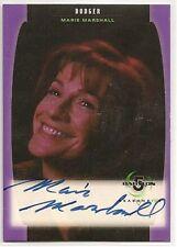 Babylon 5 Season 5 Autograph Card A11 Marie Marshall Dodger UNSTAMPED EX
