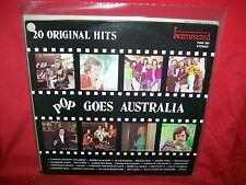 POP GOES AUSTRALIA Various LP 1975 AUSTRALIA RARE Axiom Cadd Jigsaw Mixtures