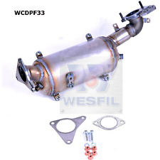 WESFIL DIESEL PARTICULATE FILTER (DPF) SUBARU FORESTER SH SJ / OUTBACK BR EE20