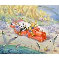 THE TOYS ON HOLIDAY - 1977  Vintage Molly Brett Medici Print