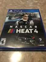 NASCAR Heat 4 PS4 PlayStation 4. Factory Sealed - Fast Free Shipping