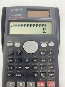 CASIO fx-300MS Scientific Calculator Two Way Power S-VPAM With Sliding Cover