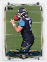 2014 Topps BLAKE BORTLES Rookie Card SP 374 Jacksonville Jaguars PHOTO VARIATION