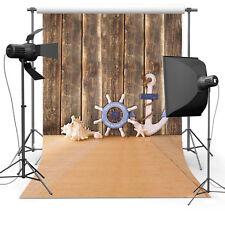 Wooden Floor Boat Tools Photo Background 3x5ft Photography Backdrops Studio Prop