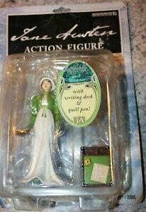 Jane Austin Action Figure '05 Accouterments #11513 Literary Novel Author Desk