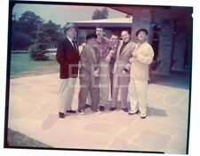 Zeppo Marx Brothers George Burns Jack Benny Vintage Old Photo Transparency 537B