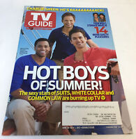 June 18-July 1, 2012 TV Guide ~ SUITS, WHITE COLLAR, COMMON LAW Hot Boys Summer
