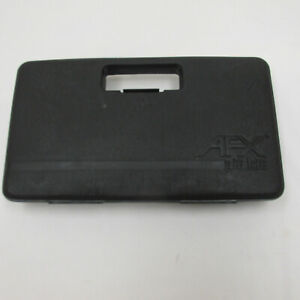 AURORA AFX SINGLE LAYER BLACK PIT KIT CARRYING CASE ~ EXC/NM COND ~ CLEAN