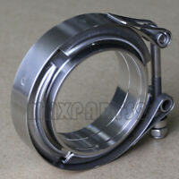 2.25inch Stainless Steel V-Band Clamp SS 304 M/F flange Vband Exhaust Downpipe