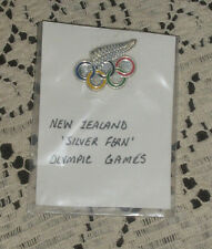 NEW ZEALAND Olympic  Pin Nice Condition Scarce