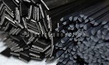 pezzi plastica saldatura Bacchette 3mm+8mm triangolare e piatto Nero,