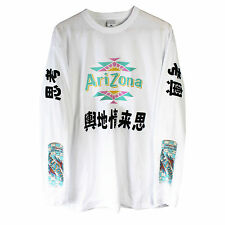 Arizona Japanese Long Sleeve T Shirt Top vaporwave yung sad boys lean L NEW