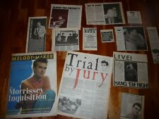More details for the smiths original cuttings 1983 -1986 reviews articles interviews