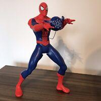 "Marvel Spider-Man 2014 Hasbro Web Slinging Action Figure Toy 15"""