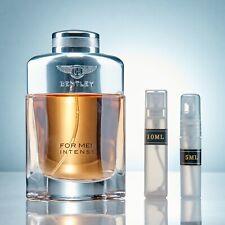 Bentley Intense by Bentley 2ml 5ml 10ml Eau de Parfum - Rum Incense Woody