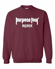 Purpose Tour Justin Bieber Fear of God vFiles Believer Unisex Jumper Sweatshirt