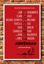 Arkansas 2020 Movie Poster Fabric 14x21 24x36 32x48 Art N-138