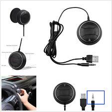 Voiture stéréo musique récepteur téléphone mains-libres 3.5mm aux nfc bluetooth chargeur usb kit