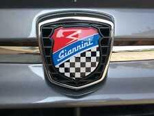 KIT ADESIVO PER GRIGLIA FIAT 500 ABARTH 595 695 LOGO GIANNINI