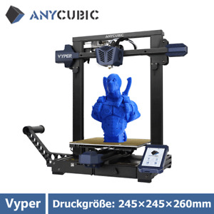 """Pre-Order Anycubic Vyper 3D Drucker 245×245×260mm 4.3"""" TFT UI Auto Nivellierung"""