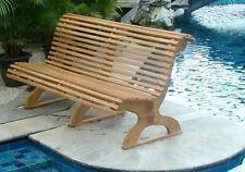 Giva A-Grade Teak Trolley Outdoor Garden Patio Luxurious Seat Bench Furniture NW