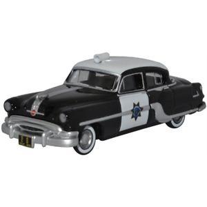 Oxford 87PC54003 Pontiac Chieftain 4 Door 1954 California Highway Patrol 1/87