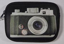 Fun Retro Camera Case Zip Pouch w Vintage SLR Print - Flying Tiger Copenhagen ❤️