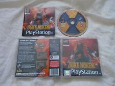 Duke Nukem 1 original Total Meltdown PS1 (COMPLETE) FPS Sony PlayStation