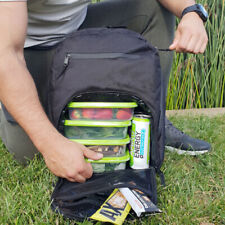 Mealami Meal Prep Backpack   Bodybuilding Work Bag Travel Laptop Gym
