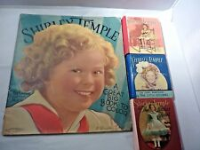 "Vintage Shirley Temple ""Big Coloring Book"" & Other Collectibles (5 Item Pkg.)"