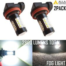 Alla Lighting H8 LED 80W-SMD Driving Fog Light Bulb/Cornering/Corner Lamp White