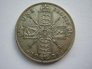 1924 silver Florin VF