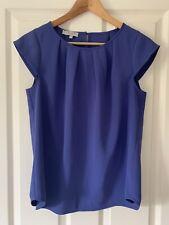 Hobbs Aria Ultramarine Purple Top Size 10 BNWT £59