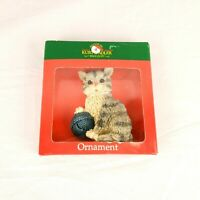 Kurt S. Adler Kitty Cat Christmas Tree Ornament Kitten with Yarn