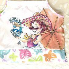 Fancy Nancy Girls Sleep Top Size 4 White Tank Butterflies Pastel Casual Lounge